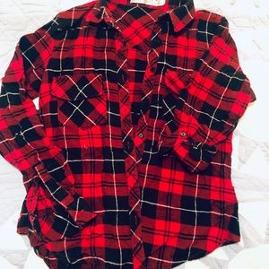 Traditional pattern flannel